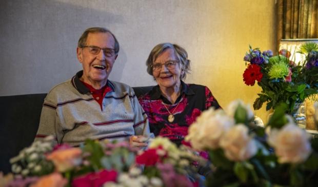 Hr en mevr Slim-Haanappel 65 jaar getrouwd