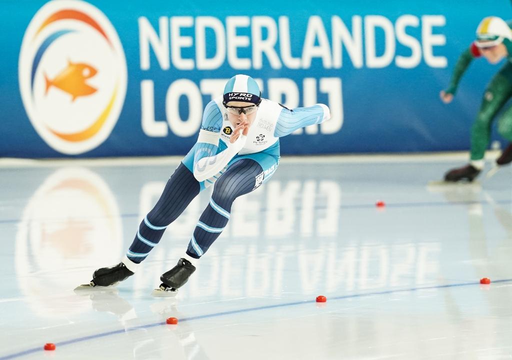 <p>Marit van Beijnum reed een sterke 500 meter op het NK</p>