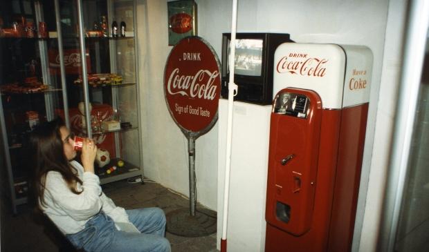 Dankzij Coca Cola Nederland was er gratis Coca Cola voor iedere bezoeker.  Gorcums Museum © BDU Media