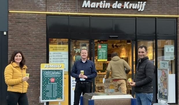 <p>Irene Okkerman, Martin de Kruijff en Martijn van der Gun. &nbsp;</p>