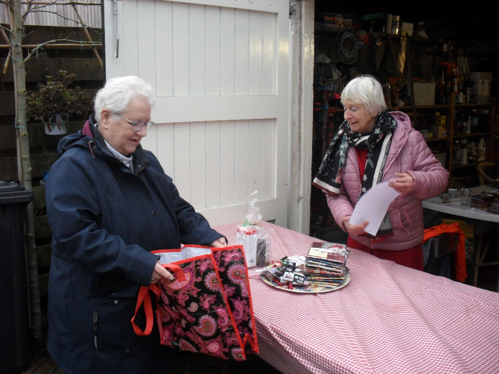 pakketjes voor de gasten Agnes Snel © BDU
