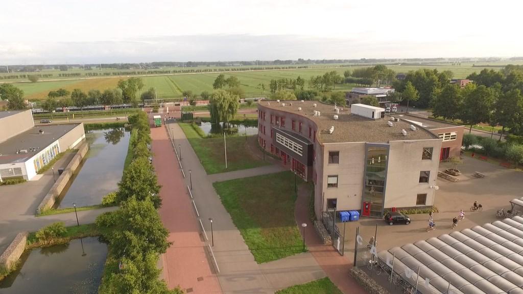 Schoolgebouw Calvijn, binnenkort voorzien van zonnepanelen.