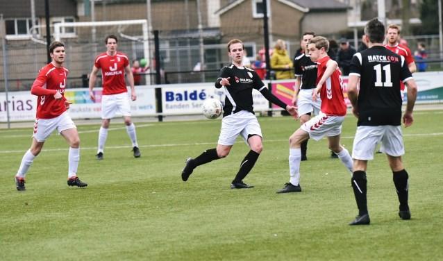 Afgelopen weekend speelde Rood Wit uit in Ederveen.