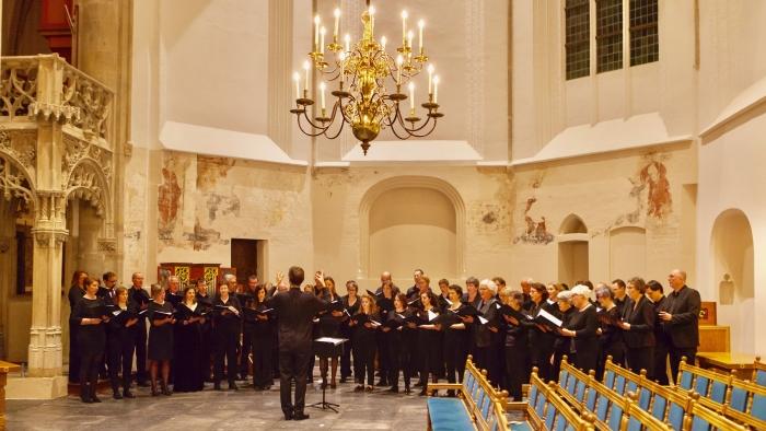 St. Joris Kamerkoor en Glasgow Chamber in 2017 in de Sint-Joriskerk