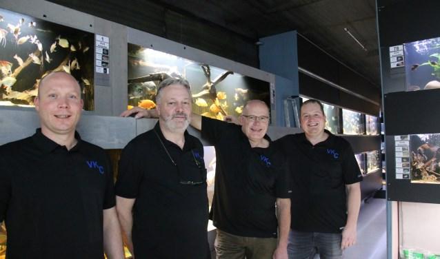 Het team van Van Keulen Cichliden staat klaar om uw vragen over aquarium houden te beantwoorden in de nieuwe winkel aan de Voorstraat 5 en 7