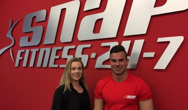 Diana en Joost zijn er niet 24/7, maar bij Snap Fitness kun je sporten wanneer jij wilt.
