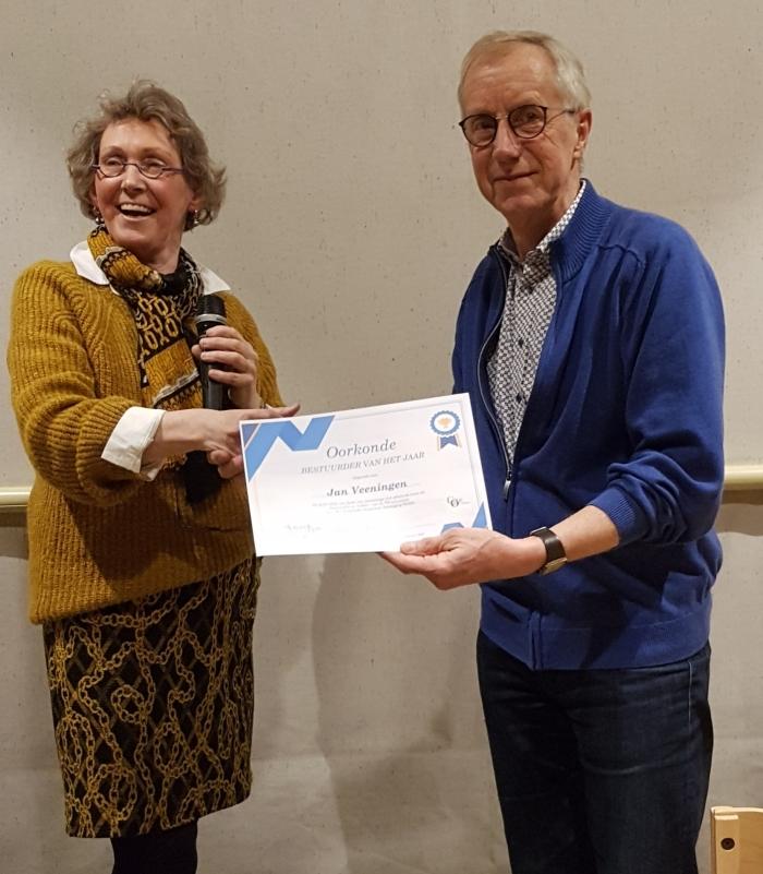 COV benoemt Bestuurder van het Jaar Anca van Ganswijk © BDU media
