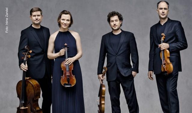 Het Signum Quartet brengt Schuberts meersterwerk 'Der Tod und das Mädchen' op vrijdag 20 maart in de Edesche Concertzaal.