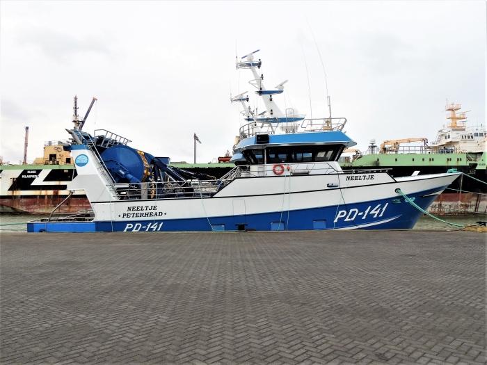 Trawlers Hans Blomvliet © BDU