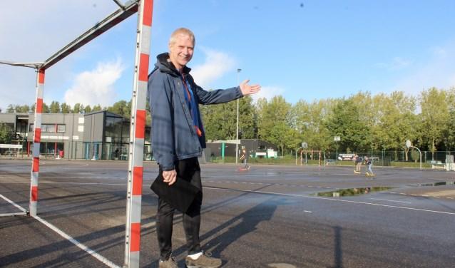 Klaas Pranger: ,,Beach handball is de toekomst. Het kan een goed alternatief zijn voor veldhandbal.''