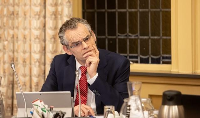 Wethouder Erwin Jansma kreeg woensdagavond kritische vragen te beantwoorden.