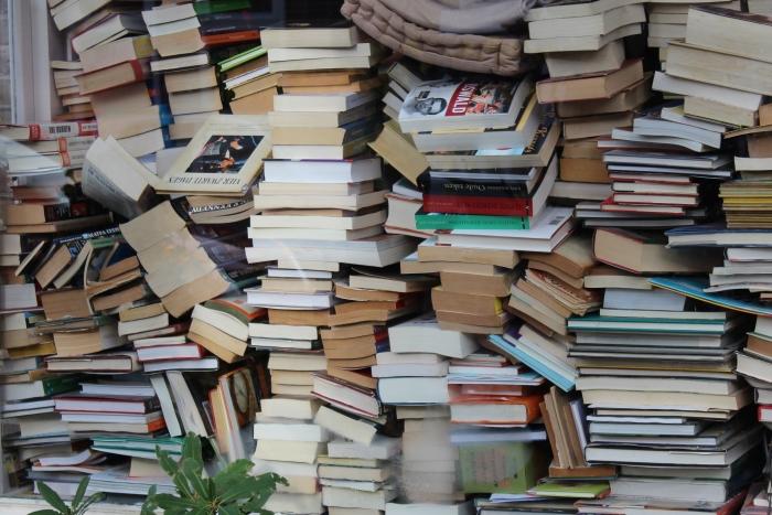 De variatie aan boeken is groot