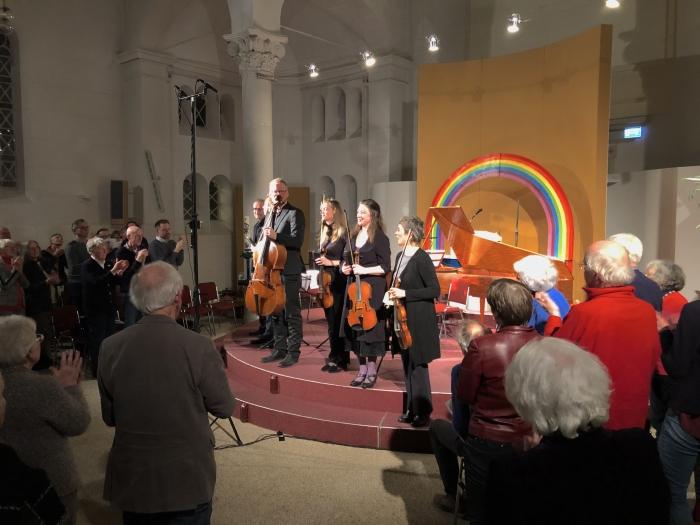 Van Swieten Society krijgt staande ovatie in de Paaskerk