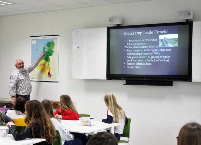 Jan Vosselman vertelt over het Marskamp in Ermelo