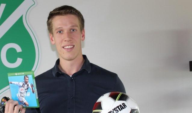 Tim van der Horst is de initiator achter de game accommodatie op zondagmorgen.
