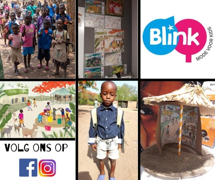 schoolkinderen uit Malawi. kleurplaten