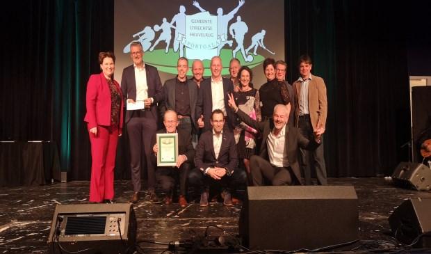 De sportstimuleringsprijs is voor Team Amazing. Wilco Willemse © BDU