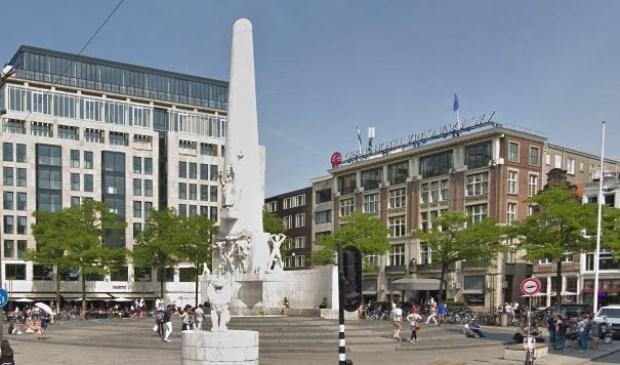 Het Nationaal Monument op de Dam in Amsterdam.