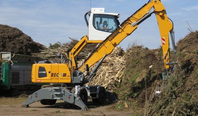 Biomassa bestaat onder meer uit snoeihout van particulieren en resthout van bos- en landschapsbeheer.