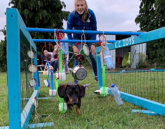 Puppycursus bij KC Zoys
