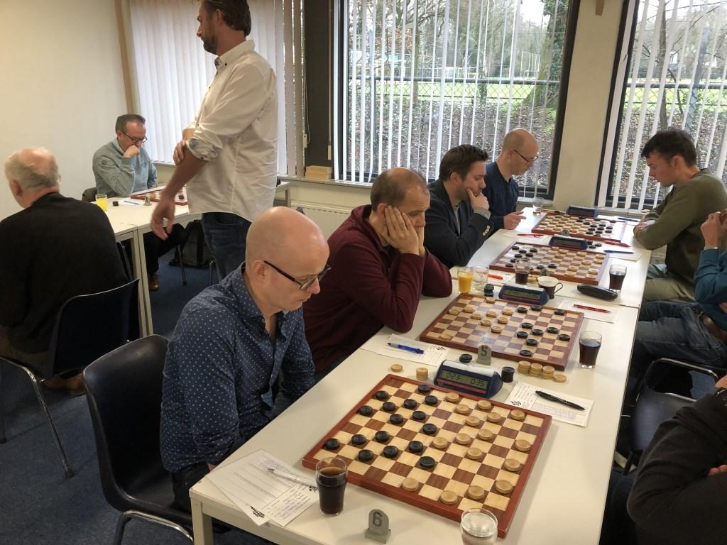 Teamleider Erwin van Hierden had het lastig bij DES Lunteren Eip Janssen © BDU Media