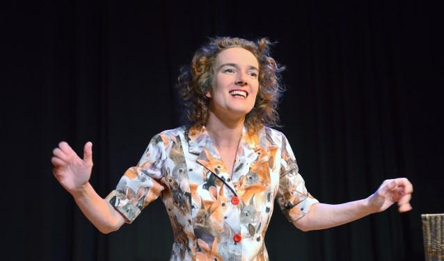 Nathalie Baartman gaat met haar humor vrijdag het publiek in Idea aan het lachen brengen.