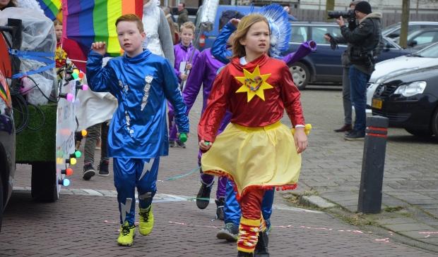 <p>Kinderen in de carnavalsoptocht in Cothen, begin van dit jaar.&nbsp;</p>