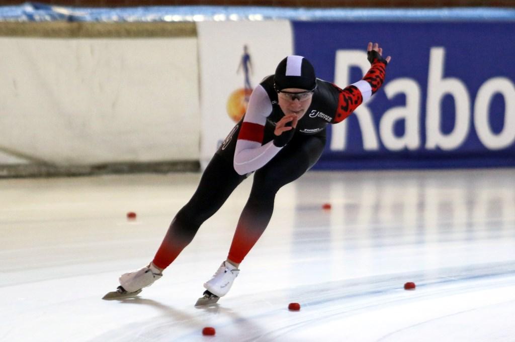 Marit van Beijnum reed een sterke 500 meter op het NK.