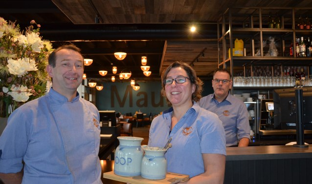 Chef-kok Ferry Meerwijk, Assistent-manager Diane Kaal en Locatie-manager Leon Menning
