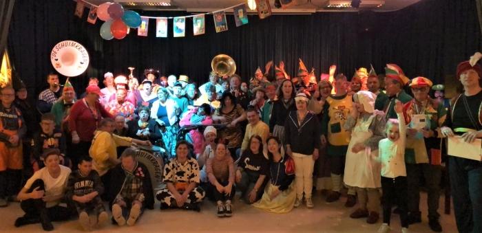 Carnavalsfeest bij De Schakel