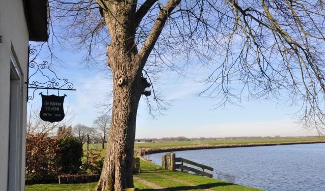 De rivier de Eem bij de Kleine Melm in de Soester polder. De gemeente wil het natuurgebied versterken.