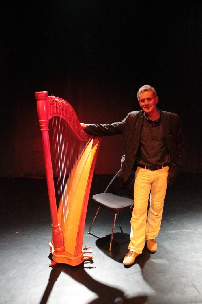 Harpist Didier Kugel niet bekend © BDU media