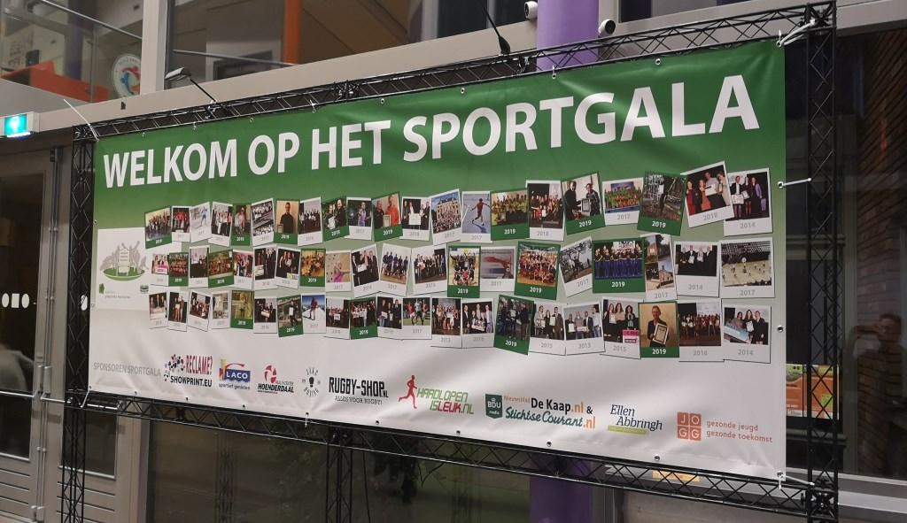 Sportgala Utrechtse Heuvelrug 2019 in Sport- en Cultuurcentrum De Binder. Wilco Willemse © BDU