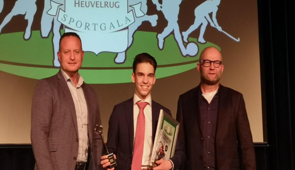 Sportman van het jaar is geworden Lucas Laudy uit Maarn. Wilco Willemse © BDU