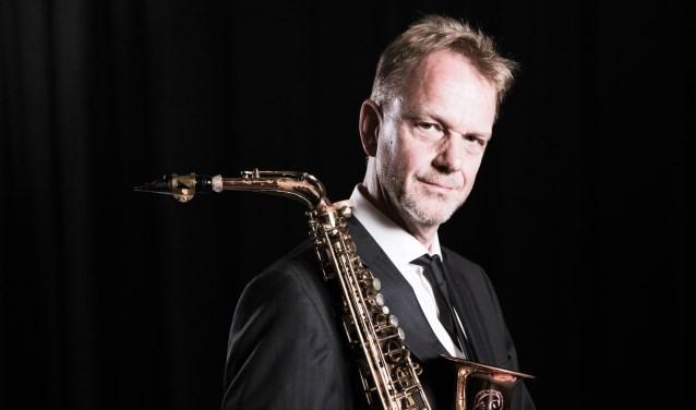 Saxofonist Arno Bornkamp