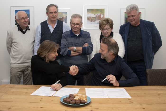 Ondertekening Participatieplan Vogelbuurt
