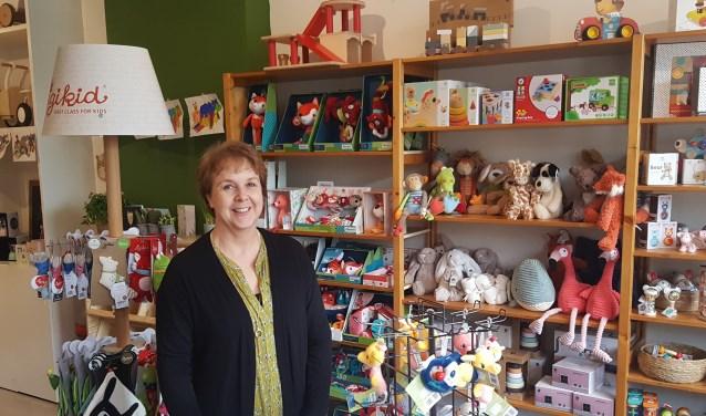 Marleon Kersten: ,,Bij Pim's Olifant vind je speelgoed dat niet in de 'gewone winkels' te koop is.