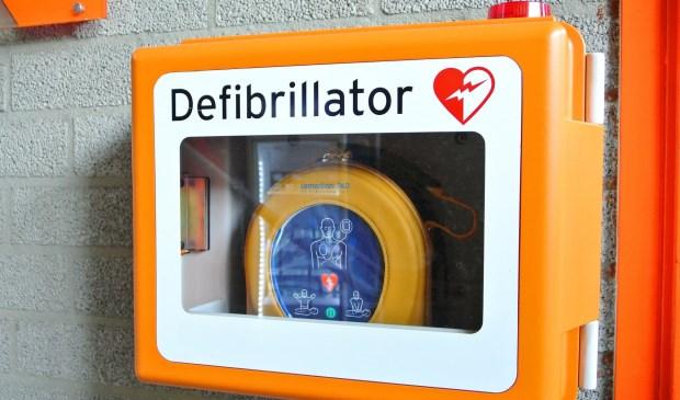 De AED komt te hangen op de Keienweg.