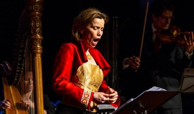 De Amersfoortse sopraan Henriette Feith.