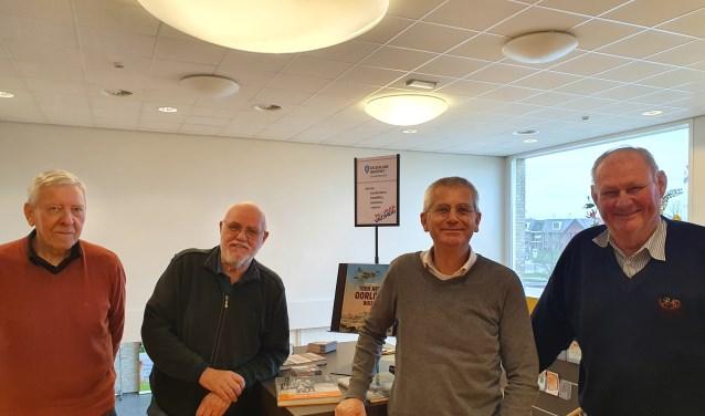 Martin Wigtman, Chris Sangers, Alfred Haaksma en Fred Vos.