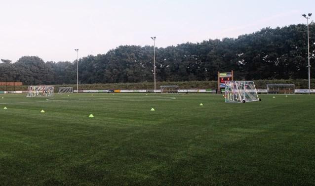 Een gedeelte van sportpark De Kastanjehof in Otterlo.