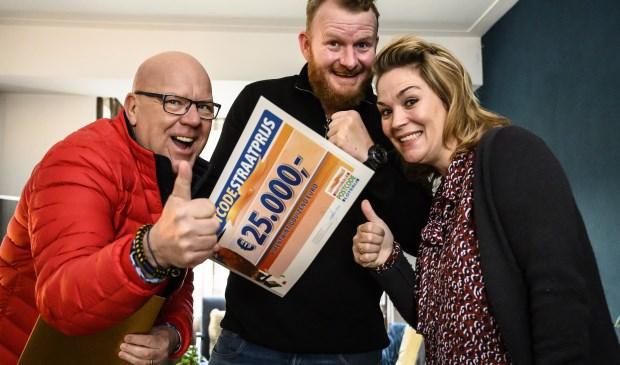 Kees en Dorien winnen 25.000 euro.