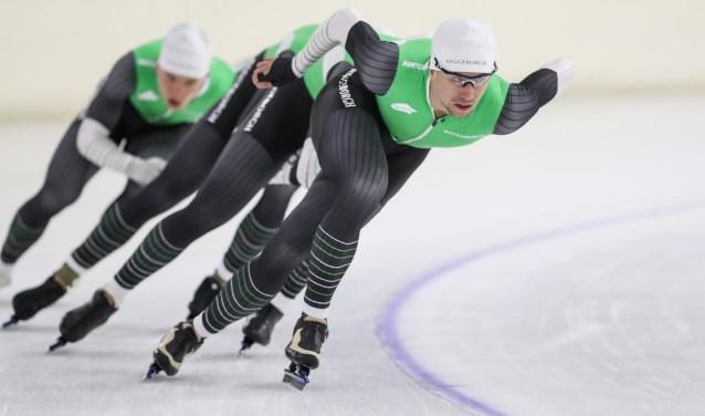 Wesly Dijs was in Calgary weer sneller dan tijdens het NK.