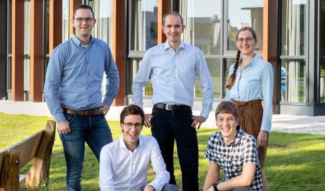 Het team van Boone IT, met in het midden eigenaar Gerrit Boone.