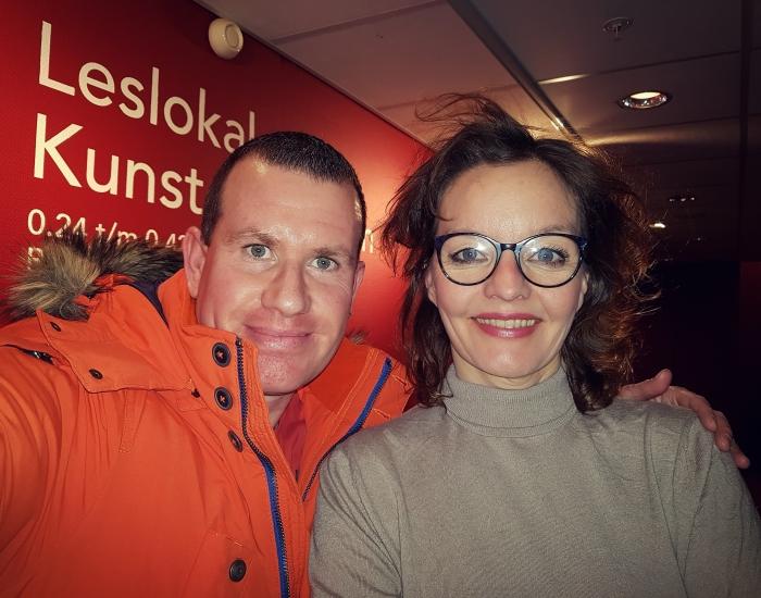 Erwin van Veldhuizen en Sanne Wallis de Vries