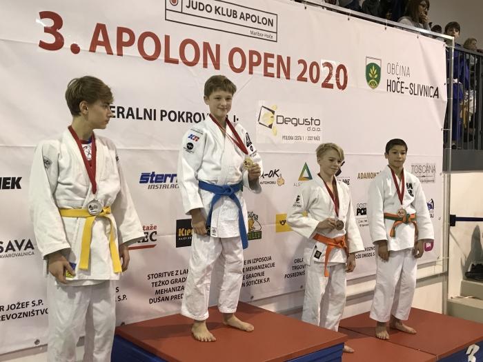 Judoka Inno Loeber wint in Maribor