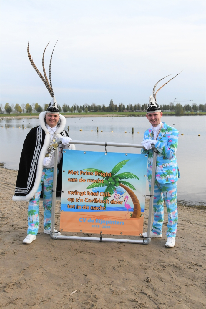 Prins Bright en President Polar verwelkomen je graag tijdens het aankomend carnavalsweekend!