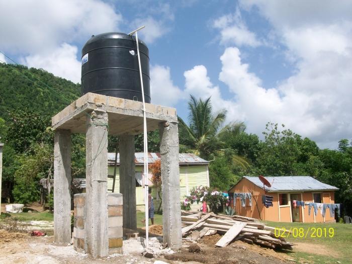 Watertoren in Altos de Peguero
