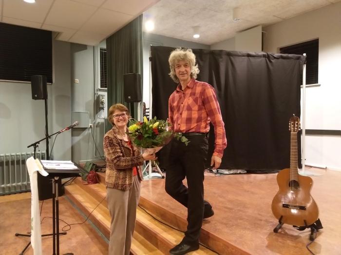 Optreden van dhr. G. Groot Zwaaftink op 11 febr. voor Passage Nijkerk