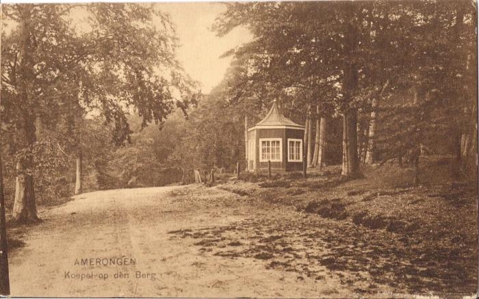 Vroegere koepel op de Amerongswe Berg